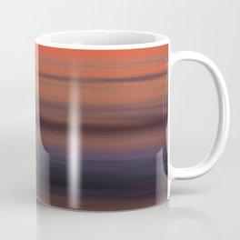 Torrey Pines Sunset Long Exposure Panorama Sweep Coffee Mug