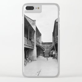 New Orleans, Louisiana, 1937-1938 Clear iPhone Case