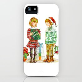 Pop Kids at Christmas Time vol.1 iPhone Case