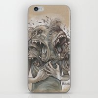 One Screaming Monkey at a Time iPhone & iPod Skin