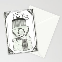 Hatboxes Stationery Cards