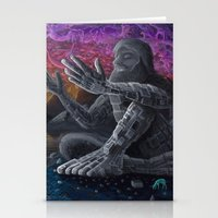 atlas Stationery Cards featuring Atlas by Drake Arnold Art