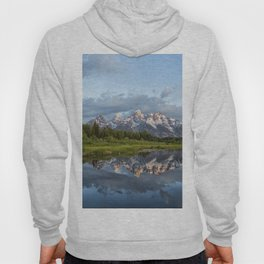 Light Touching the Grand Tetons Hoody
