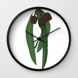 Humble Gumnuts Wall Clock