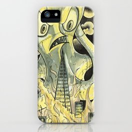 Steamechanical Octopus iPhone Case