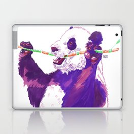 Purple Panda Laptop & iPad Skin