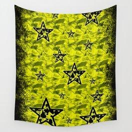 Toxic Stars Pattern Wall Tapestry