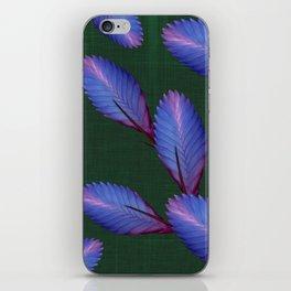 Tillandsia in emerald green iPhone Skin