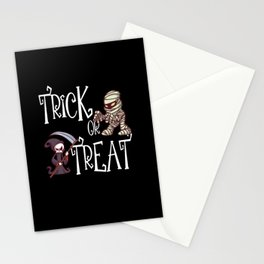 Trick Or Treat Deathman Mummy Stationery Cards