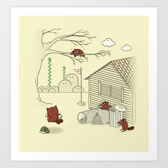 Unexpected Guest Art Print