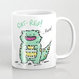 Cat Rex Coffee Mug