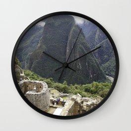 Incan Paradise Wall Clock