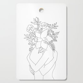 Blossom Hug Cutting Board