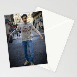 Parisian Mugshots - Dear Lucien (Gueules De Parisiensa) Stationery Cards