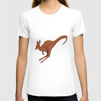 kangaroo T-shirts featuring Kangaroo by Imaginative Ink