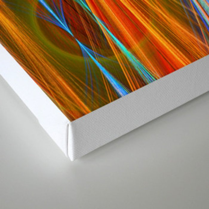 Mirthful, colourful abstract Canvas Print