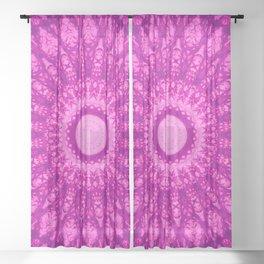 MANDALA NO. 34 #society6 Sheer Curtain