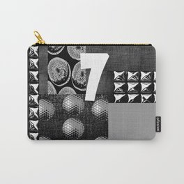 GREY #THE 7 Carry-All Pouch