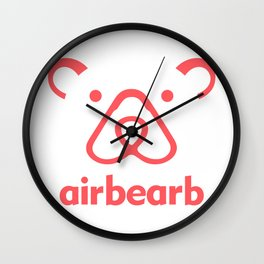 Airbearb Wall Clock