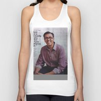 steve jobs Tank Tops featuring Steve Jobs  by Startuo Quote