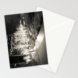 CHRISTMAS IN HOLLYWOOD - day three b&w Stationery Cards
