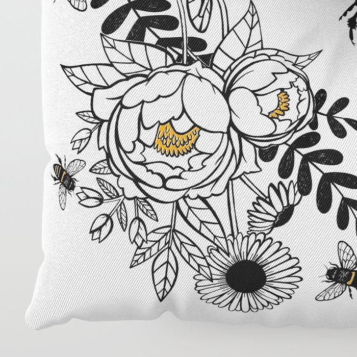 Queen Bee Floor Pillow