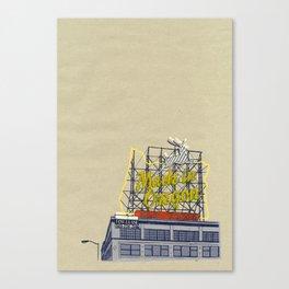 Portland print PDX Canvas Print