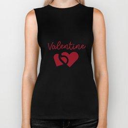 Funny Classroom School Teacher Valentine's Day Biker Tank