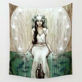 Swim Beyond Wall Tapestry
