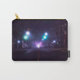 dark nights and flashing lights Carry-All Pouch