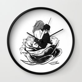 Heaven moments. Wall Clock