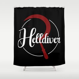 The Helldiver Shower Curtain