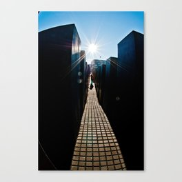 Towards the Light Canvas Print