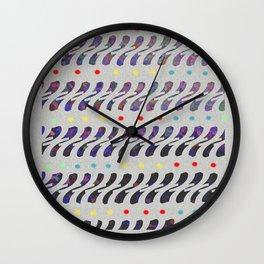 Charol Chani patrón Wall Clock