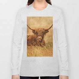 Happy Highlander Long Sleeve T-shirt