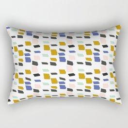 Brick to Block Rectangular Pillow