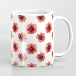 Meadow Red Poppies Coffee Mug