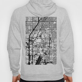 Las Vegas city map Hoody