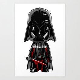 Darth Vader Funk Art Print