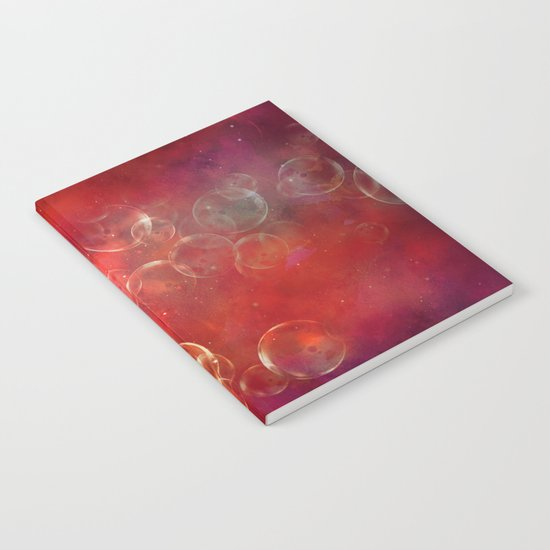 Into the red space Notebook