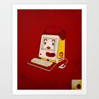 "mac Art Prints featuring ""MAC"" Donalds by Chris Dk"