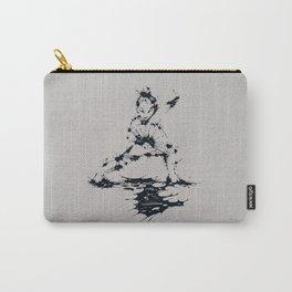 Splaaash Series - Lan Lan Ink Carry-All Pouch