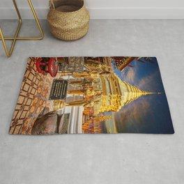 Phrathat Doi Suthep Temple Thailand Rug