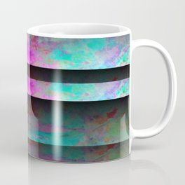 Turquoise Color Blinds Coffee Mug