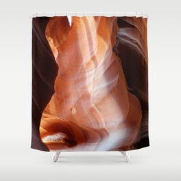 Passage of the Gods, Antelope Canyon Art Photography Shower Curtain