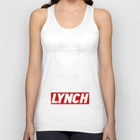 david lynch Tank Tops featuring David Lynch by Spyck