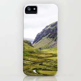 Green Irish Valley iPhone Case