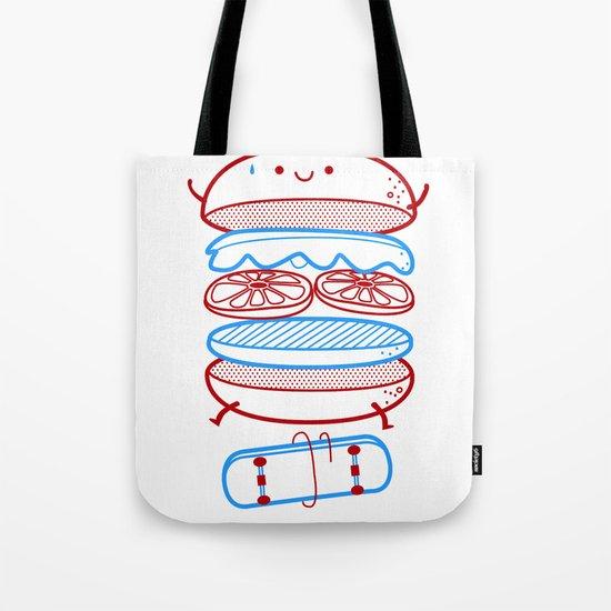Street burger  Tote Bag