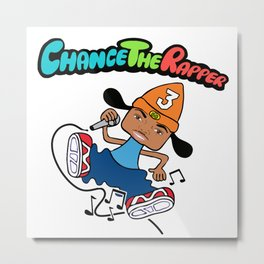 Parappa/Chance The Rapper Metal Print