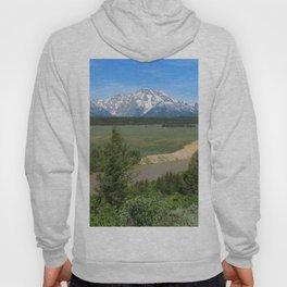 Snake River And Grand Teton Range Hoody